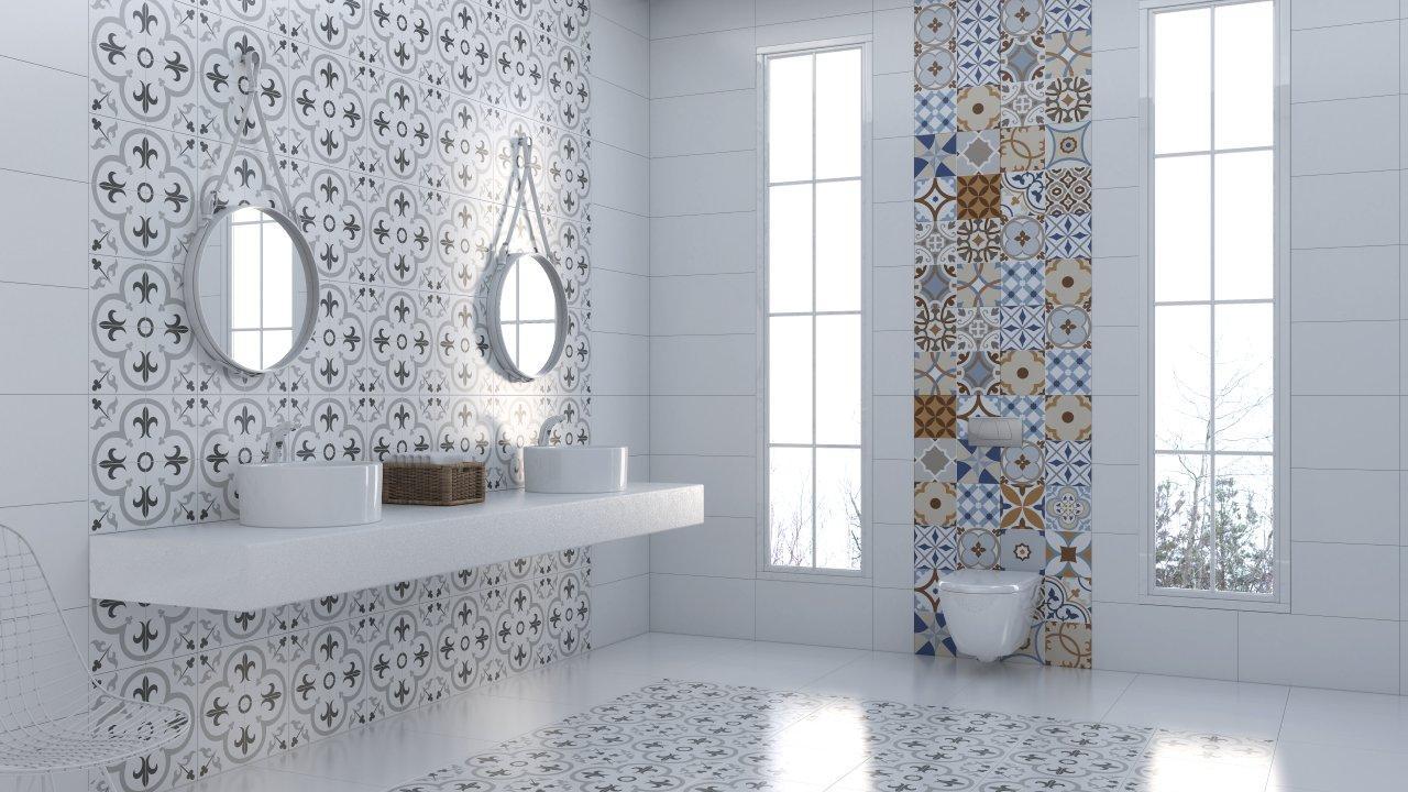 Klinker patchwork grey 40x40 ⋆ tilesrus finland