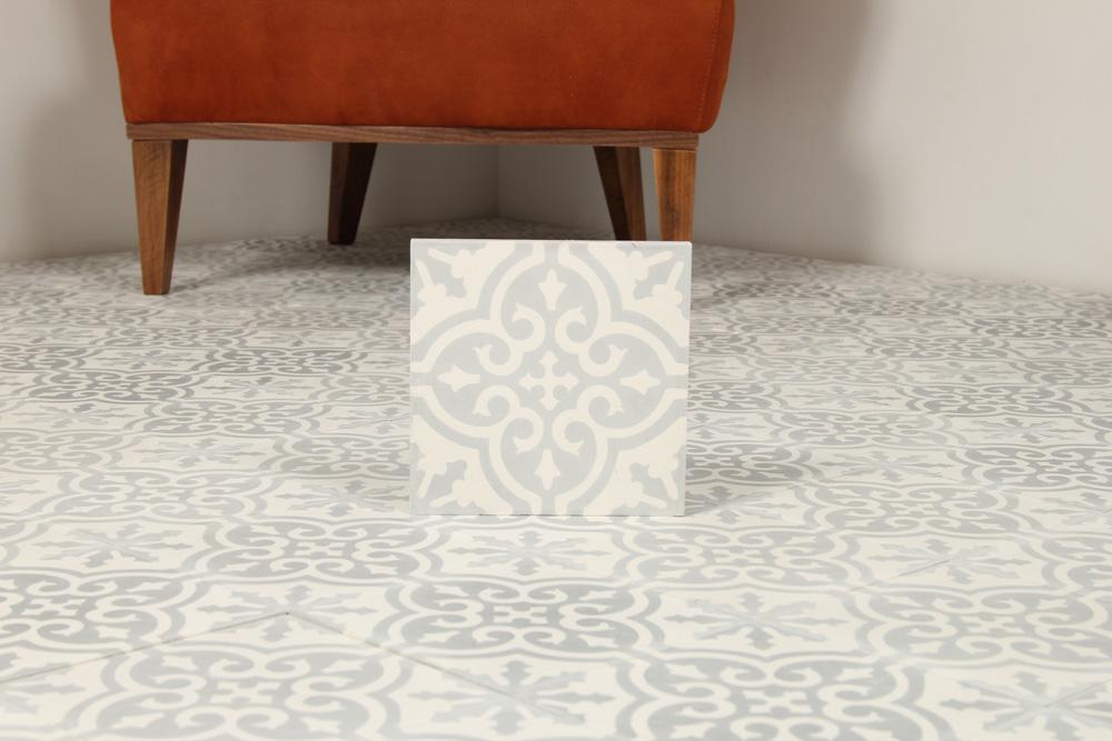 Kakel Workshop : Moroccan tile vintage berkane grey �� tilesrus finland