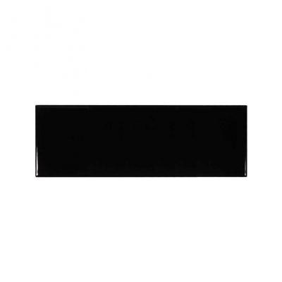 Kakel Glossy Black 10X30