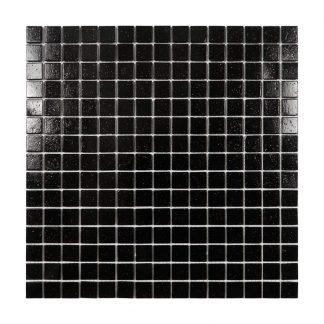 Glasmosaik Black Black
