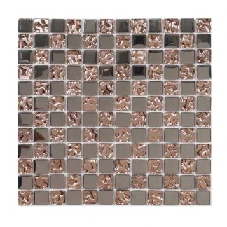 Kristallmosaik Glow Copper 30X30