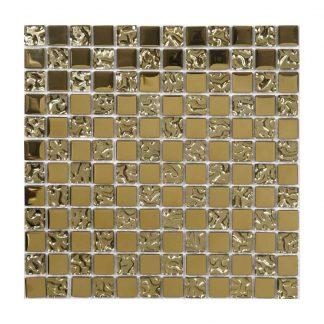 Kristallmosaik Glow Gold 30X30