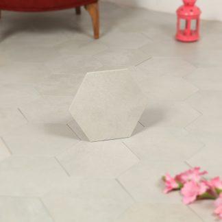 Hexagon Klinker Rift Blanco