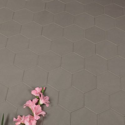 Klinker Hexagon Grey 14X16