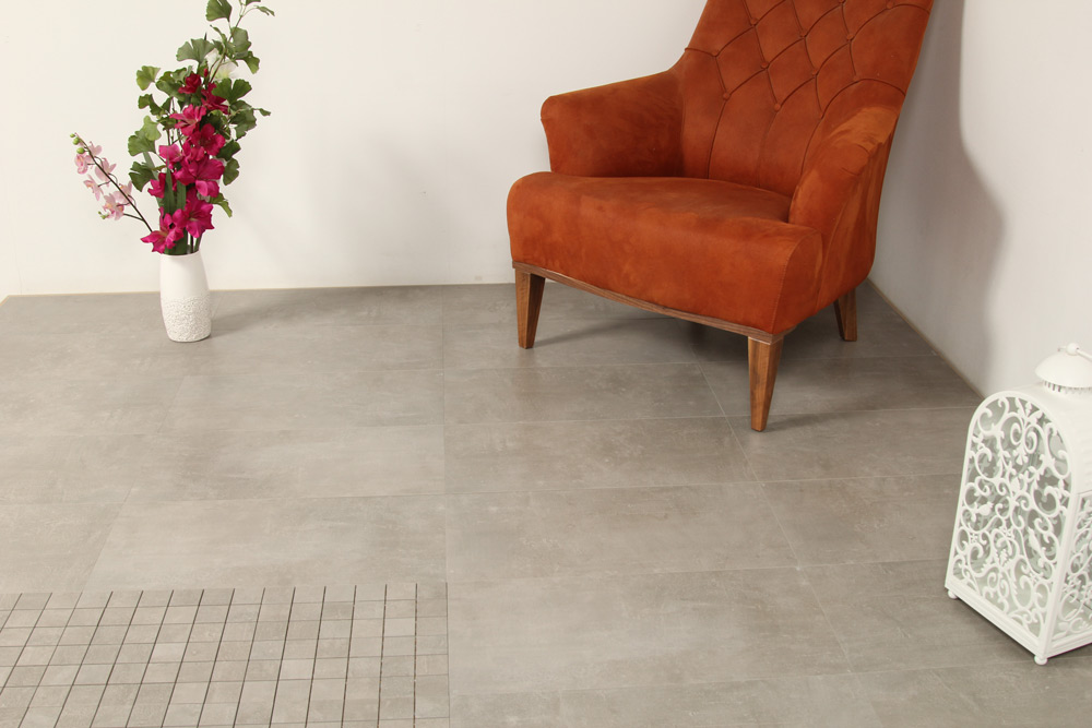 Concrete Dark Grey Mosaik 30X30