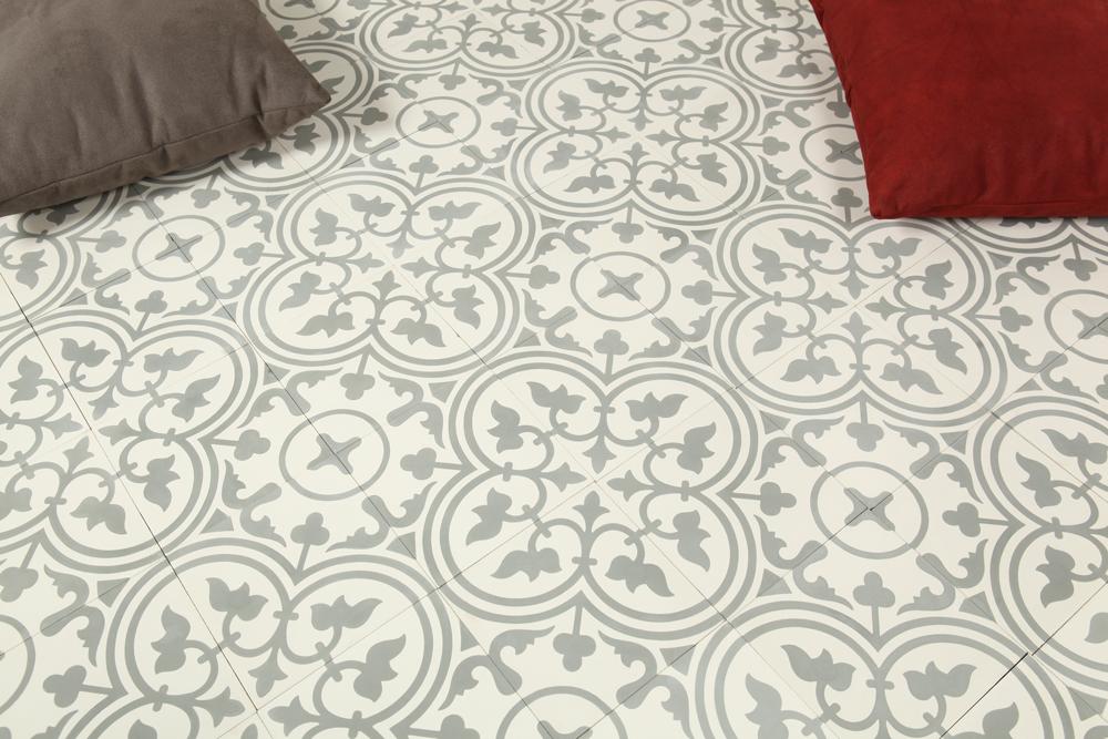 Marockanskt Kakel Safi Grey 20X20