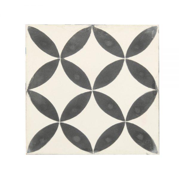 Marockanskt Kakel Vintage Tarfaya Black 20X20