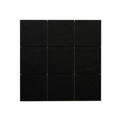 Mosaik Slate Svart Matt 10X10