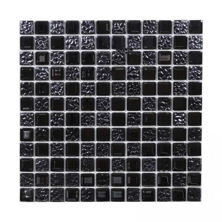 Kristallmosaik Black Mix