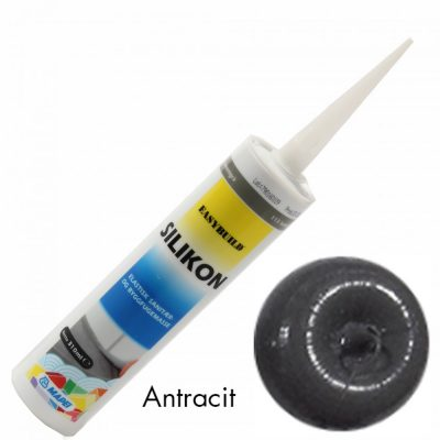 Antracit Silikon 310 ml