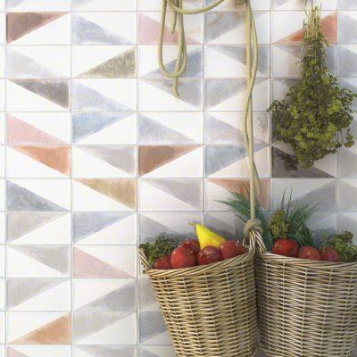 Kakel Rabari Multicolor 10X20