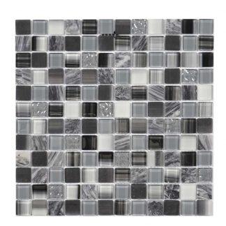 Kristallmosaik Grey Mix