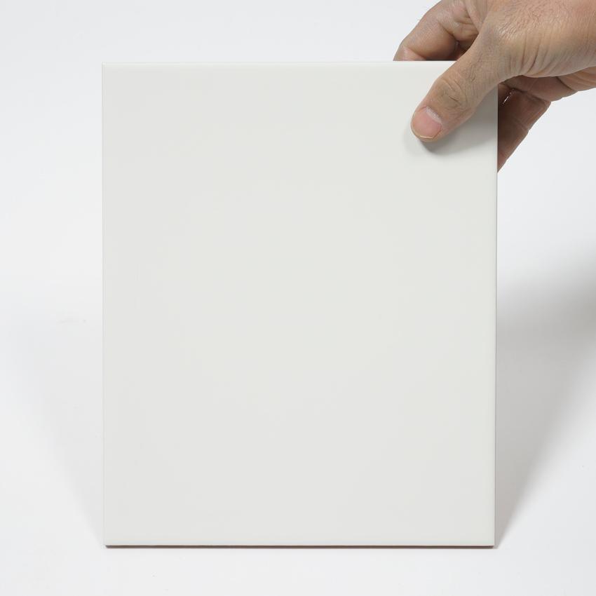 Weiße Matte Fliesen Keramische Fliesen Mosaikfliesen OnlineR - Fliesen 20 x 25