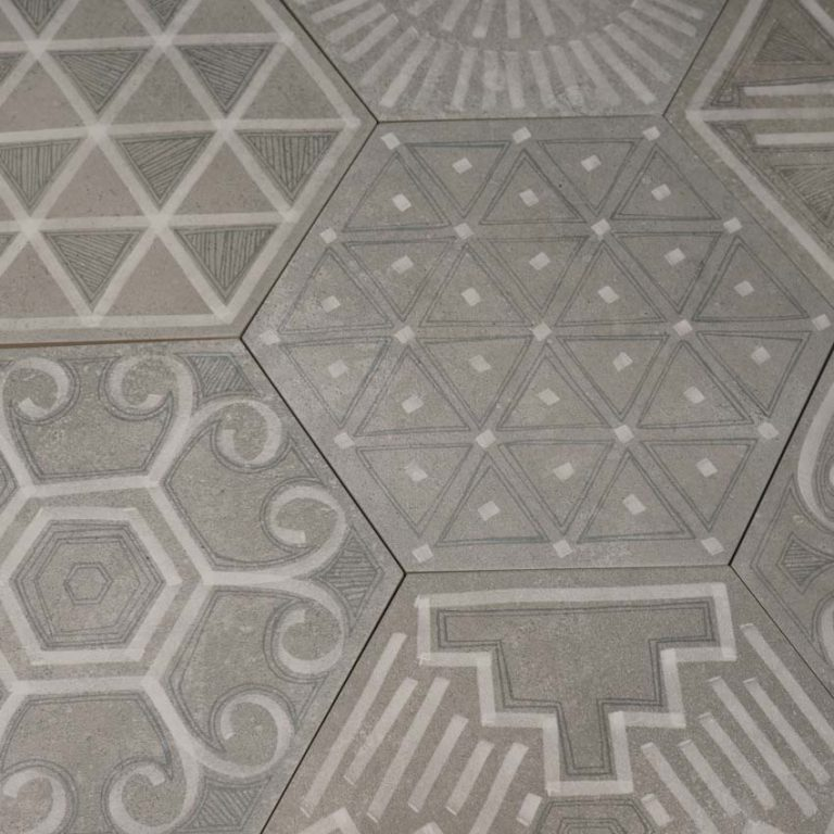 Klinker Hexagon Igneus 23X26,6
