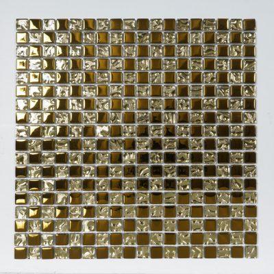 Kristallmosaik Gold