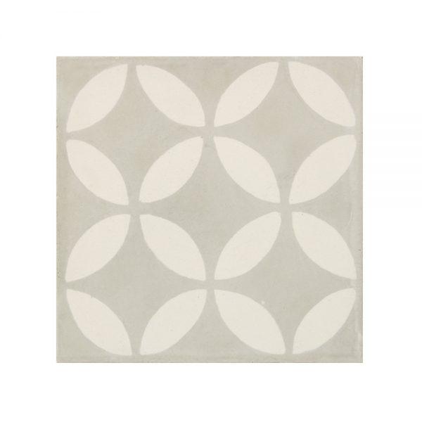 Marockanskt Kakel Vintage Tarfaya Grey 20X20