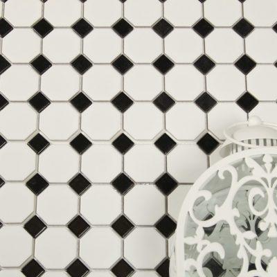 Mosaik Oktagon White 31,1X31,1